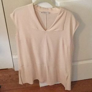 MM Lafleur blush pink blouse